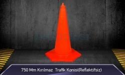 MFK - 750mm Kırılmaz Trafik Konisi ( Reflektifsiz ) MFK1034