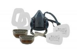 3M - 7523M 7500 Maske ve A2P3 Filtre Seti - 4lü Koli