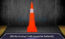 MFK - 900mm Kırılmaz Trafik Konisi ( Tek Reflektifli ) MFK3190