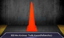 MFK - 900mm Kırılmaz Trafik Konisi ( Reflektifsiz ) MFK1042