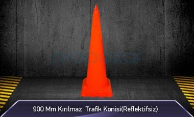900mm Kırılmaz Trafik Konisi ( Reflektifsiz ) MFK1042 - 3090