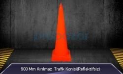 MFK - 900mm Kırılmaz Trafik Konisi ( Reflektifsiz ) MFK3090