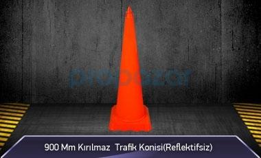 900mm Kırılmaz Trafik Konisi ( Reflektifsiz ) MFK3090