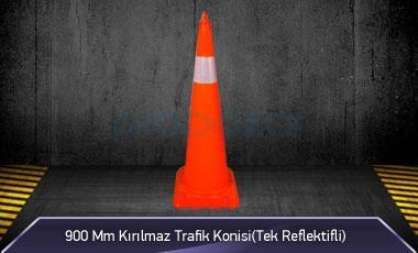 900mm Kırılmaz Trafik Konisi ( Tek Reflektifli ) MFK1041 - 3190