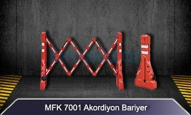 Akordiyon Bariyer MFK7001
