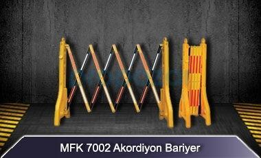 Akordiyon Bariyer MFK7002