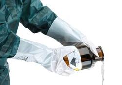 Ansell 02-100 AlphaTec Barrier Kimyasal İş Eldiveni - Thumbnail