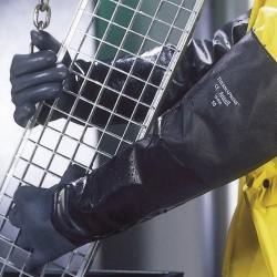 Ansell 19-026 AlphaTec Sıcak Soğuk Dirençli Kimyasal İş Eldiveni - Thumbnail
