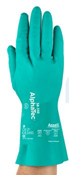 Ansell AlphaTec 58-330 Kimyasal ve Sıvı Korumalı İş Eldiveni