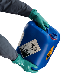 Ansell AlphaTec 58-330 Kimyasal ve Sıvı Korumalı İş Eldiveni - Thumbnail
