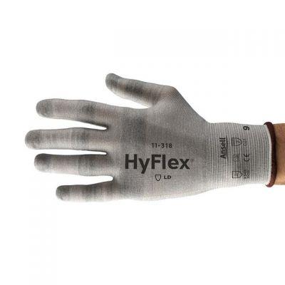 Ansell Hyflex 11-318 Hafif Kesilmelere Karşı Koruyucu İş Eldiveni