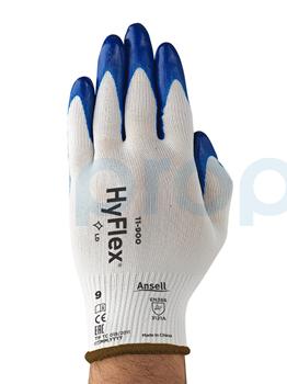 Ansell Hyflex 11-900 Yağ Tutmaz Antistatik İş Eldiveni