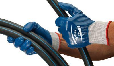 Ansell Hyflex 11-909 Mekanik ve Yağ Tutmaz İş Eldiveni