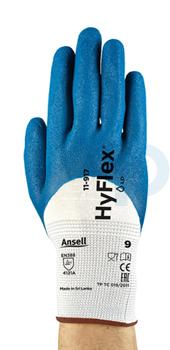 Ansell Hyflex 11-917 Aşınma Dirençli Yağ Tutmaz İş Eldiveni