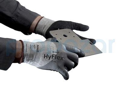 Ansell Hyflex 11-927 Kesilme Dirençli Yağ Tutmaz İş Eldiveni