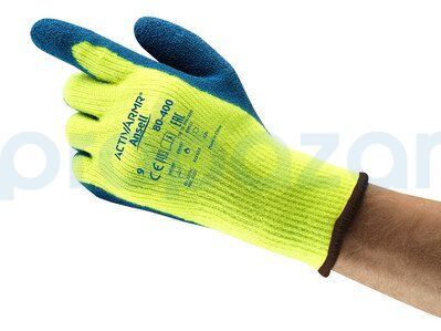 Ansell ActivArmr 80-400 Sıcak ve Soğuk Dirençli Esnek İş Eldiveni