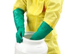 Ansell Sol-Vex 37-185 Kimyasal ve Sıvı Korumalı İş Eldiveni - Thumbnail