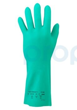 Ansell Sol-Vex 37-695 Kimyasal ve Sıvı Korumalı İş Eldiveni