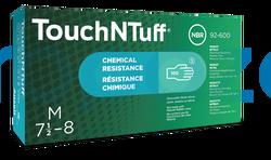 Ansell - Ansell Touch N Tuff 92-600 Kimyasal ve Sıvı Korumalı İş Eldiveni