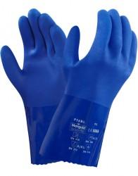 Ansell - Ansell Versa Touch 23-200 Kimyasal ve Sıvı Korumalı PVC İş Eldiveni (P56BL)