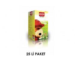 Awon - Awon 1400 FFP1 NR Ventilsiz Katlanabilir Toz Maskesi 25li paket