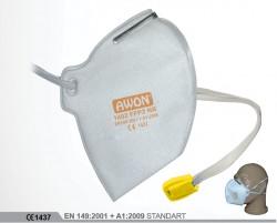 Awon - Awon 1402 FFP2 NR Ventilsiz Katlanabilir Toz Maskesi