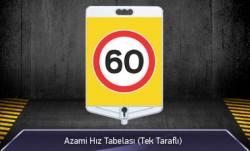 MFK - Azami Hız 60 Tabelası Tek Yönlü MFK9308