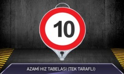 MFK - Azami Hız 10 Tabelası Tek Taraflı MFK9111