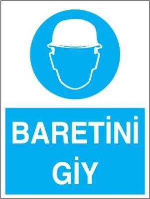 Baretini Giy Levhası - Tabelası