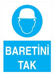 Propazar - Baretini Tak İş Güvenliği Levhası - Tabelası