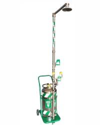 FyrPro - Basınçlı Depolu Tekerlekli Portatif Kombine Duş ISTEC Tip ESW-P