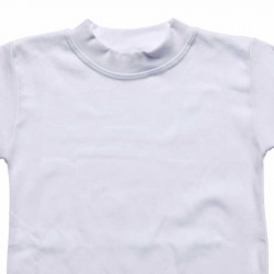 Propazar - Beyaz Bisiklet ( Sıfır ) Yaka T-shirt