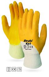 Beybi - Beybi KN1 / ELK1 Pamuk Astarlı Sarı Nitril İş Eldiveni