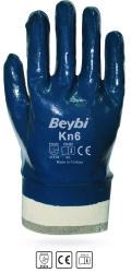 Beybi - Beybi KN6 / EL-K6 Pamuk Astarlı Nitril Petrolcü İş Eldiveni