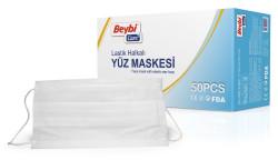 Beybi - Beybi Lastik Halkalı Yüz Maskesi