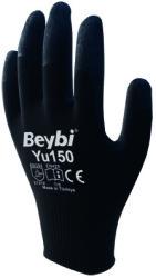 Beybi - Beybi YU150 Nylon Örgü Antistatik PU Montaj Eldiveni