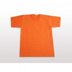 Propazar - Bisiklet (Sıfır) Yaka Turuncu T-shirt