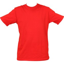 Propazar - Bisiklet Yaka Kırmızı T-shirt