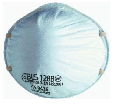 BLS 128BW FFP2 R D Ventilsiz Toz Maskesi