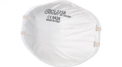 BLS 225B FFP2 NR D Aktif Karbonlu Konik Toz Maskesi