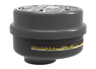 BLS 253 ABE2P3 R Organik İnorganik Asit Gaz Buhar Filtresi