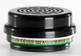 BLS 322 ABEK1P3 R Org.-İnorg. Asit Gaz Buhar Filtresi
