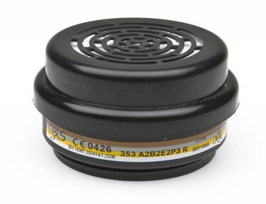 BLS 353 ABE2P3 R Organik İnorganik Asit Gaz Buhar Filtresi