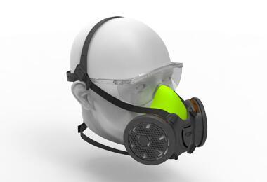 BLS 4000S Yarım Yüz Maskesi