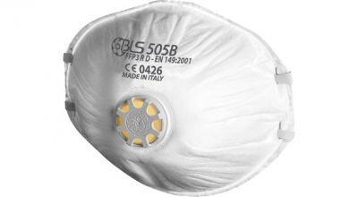 BLS 505B Konik Toz Maskesi Ventilli