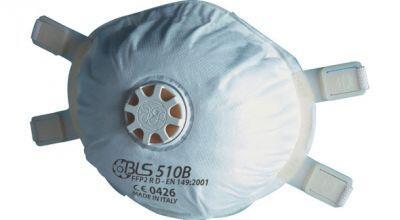 BLS 510B FFP2 R D Ventilli Konik Kaynak Maskesi