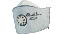 Bls - BLS 733 FFP1 NR D Aktif Karbonlu Katlanabilir Ventilli Toz Maskesi