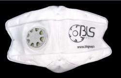 Bls - BLS 822 FFP1 NR D Ventilli Katlanabilir Toz Maskesi