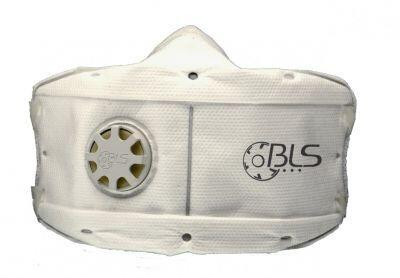 BLS 860 Katlanabilir Ventilli Toz Maskesi