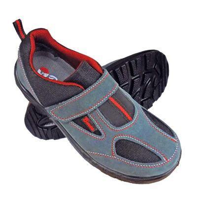 Bmes S1 Süet Deri Çelik Burunlu Cırtlı İş Ayakkabısı